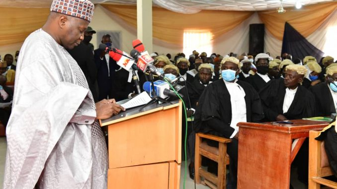 The Gombe State Government Charges Judicial Officers to Live Above Board And Exude Values of Integrity