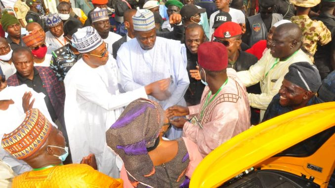 The Borno State Governor Zulum Launches 2nd Phase of N1bn support for The SMEs in Biu